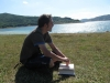 Spakka al Lago di Campotosto