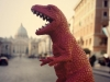 Godzilla VS Papa Francesco