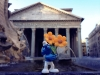Il Puffo Fermin al Pantheon