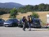 Turisti in partenza per Santiago de Compostela