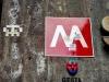 invaders - Metro Piazza di Spagna