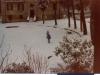 Il mio cortile innevato - Epifania 1985