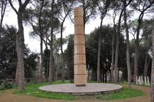 Omaggio a Simon Bolivar nel parco di Montesacro