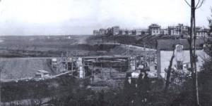 città giardino durante la guerra
