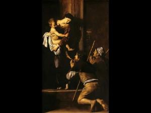Madonna dei Pellegrini Caravaggio