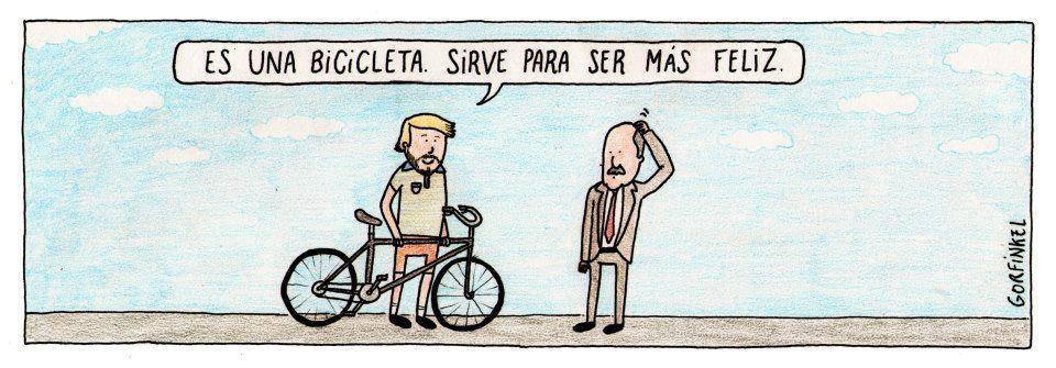 es una bicicleta