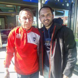 Foto con Mister Zeman