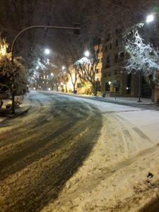 Nevicata Roma